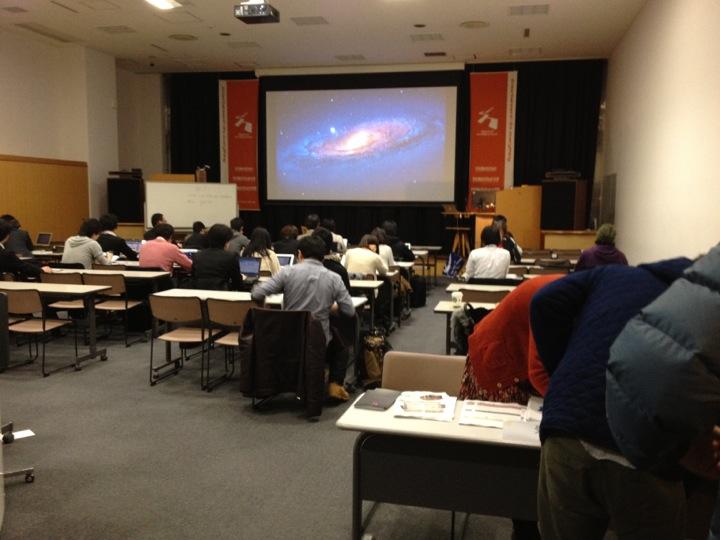 第4回Twitter API勉強会のデジタルハリウッド会場の様子