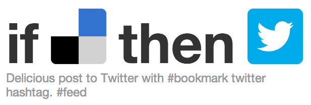 IFTTT - Delicious to Twitter