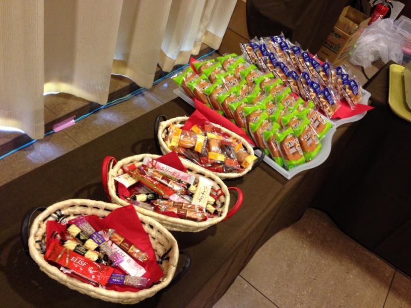 イベントホールのお菓子