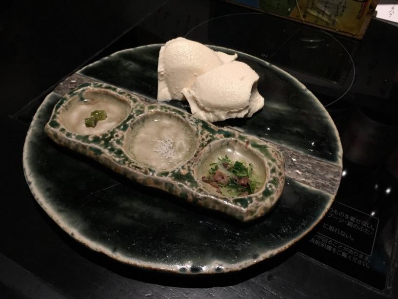 雑魚やの豆腐