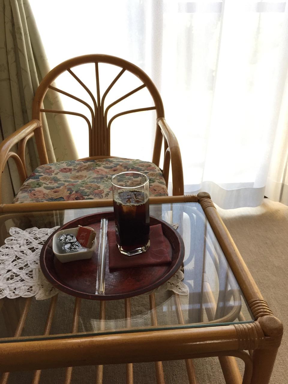 菊香荘の朝 - アイスコーヒー